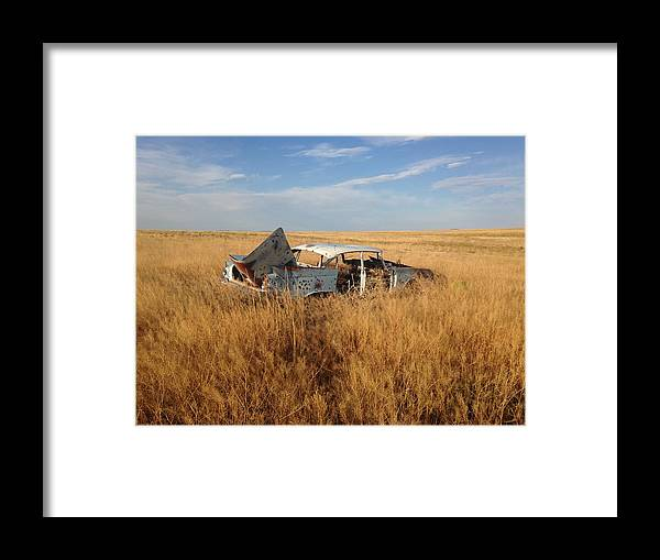 Wall Art Framed Print featuring the photograph Day's Gone By by Joseph Lee