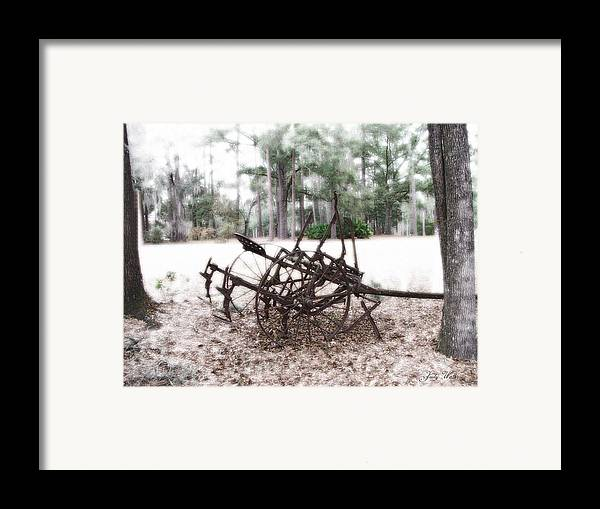 Old Framed Print featuring the photograph Days Past by Judy Waller