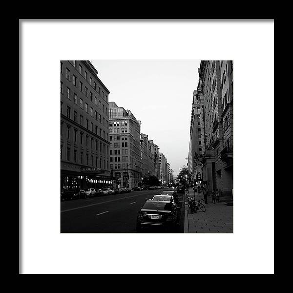 Washington Dc Framed Print featuring the photograph Dc Afternoons by Antonio Moore