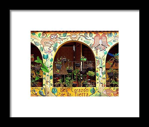 Tlaquepaque Framed Print featuring the photograph de la Tierra by Mexicolors Art Photography