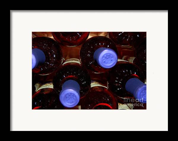 Wine Framed Print featuring the photograph De-vine Wine by Debbi Granruth