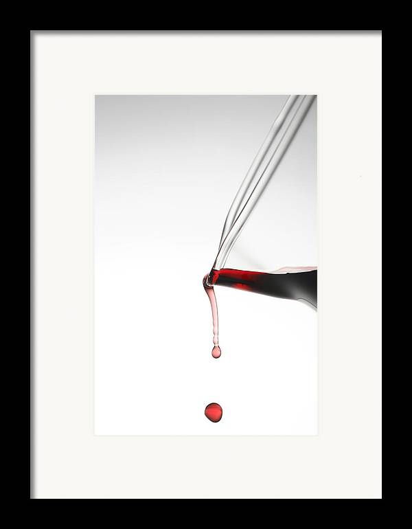 Wine Framed Print featuring the photograph Decanter by Frank Tschakert