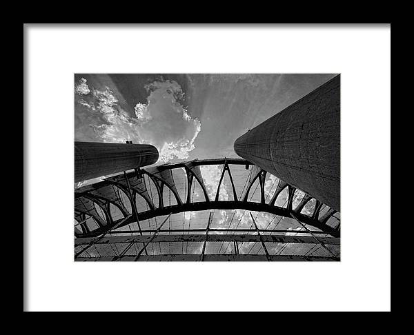 Decaying Structure Framed Print featuring the photograph Decaying Structure Flushing Meadow Park 2 by Robert Ullmann