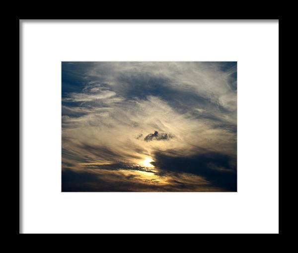 Winter Framed Print featuring the photograph December Sky by Ana Villaronga