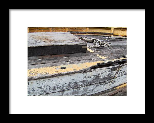 Conv� Barco Framed Print featuring the photograph Deck by Sephora Silva