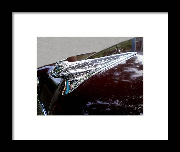 Cars Framed Print featuring the photograph Deco Desoto by Jan Amiss Photography