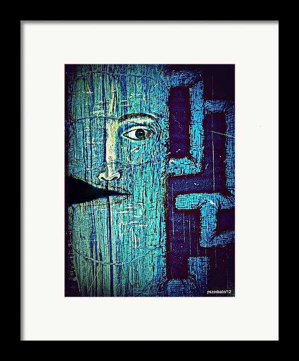 Cut Framed Print featuring the digital art Deep Cut by Paulo Zerbato