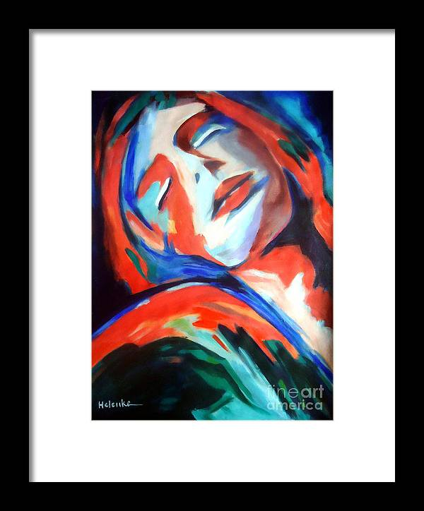 Affordable Original Paintings Framed Print featuring the painting Deepest Fullness by Helena Wierzbicki