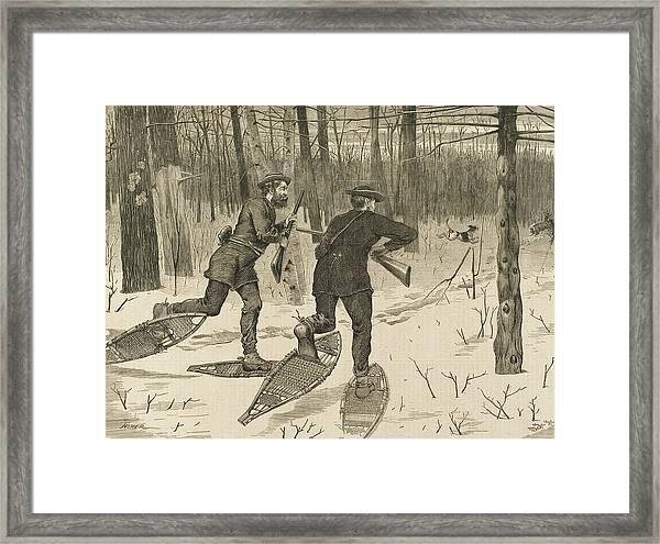 Adirondacks Deer Stalking Fine Art Print Winslow Homer Prints and Drawings