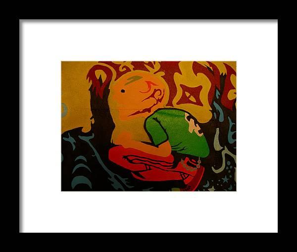 Deftones Framed Print featuring the painting Deftones Band by Heinrich Haasbroek