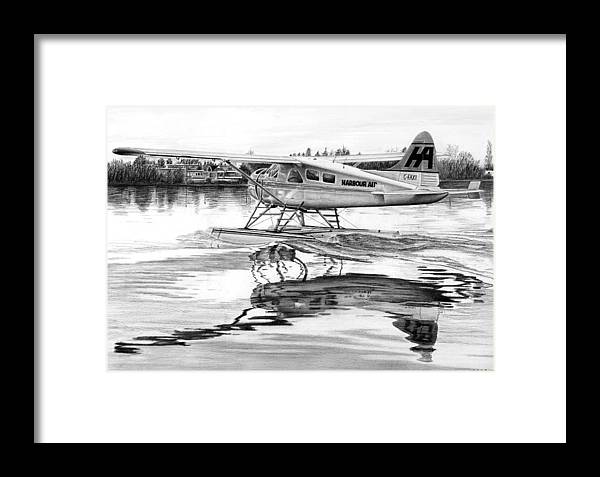 Dehavilland Beaver Framed Print by Lyle Brown
