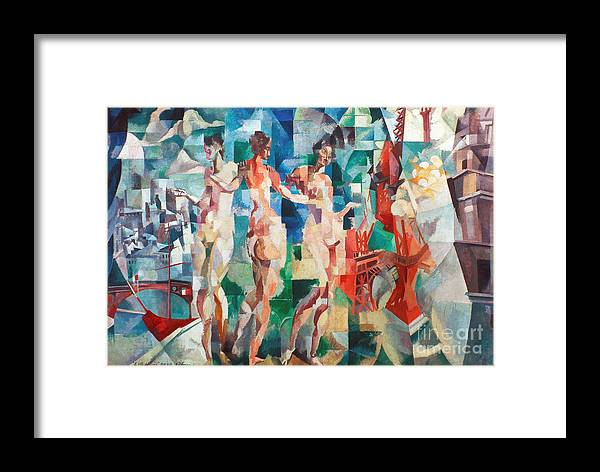 1910s Framed Print featuring the photograph Delaunay: City Of Paris by Granger