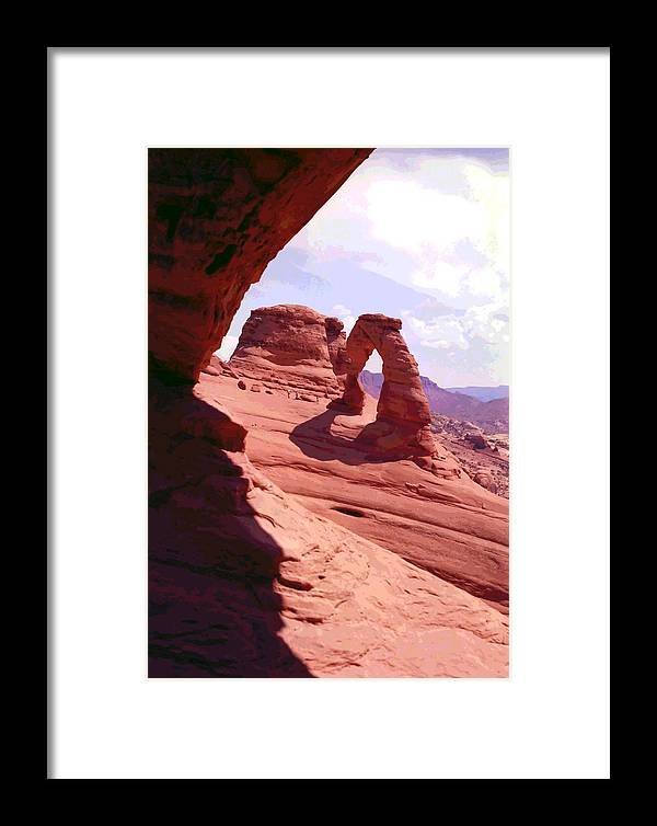 Arches Framed Print featuring the photograph Delicate Arch 2 by Steve Ohlsen