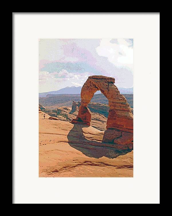 Arches Framed Print featuring the photograph Delicate Arch 3 by Steve Ohlsen