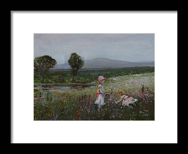 Impressionist Framed Print featuring the painting Delights Of Spring - Lmj by Ruth Kamenev