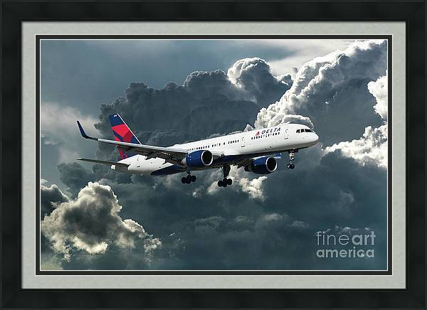 Delta Air Lines Boeing 757-26D by Airpower Art