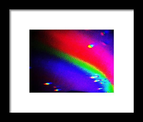 First Magnitude Star. Framed Print featuring the mixed media Den-eb. by Nereida Slesarchik Cedeno Wilcoxon