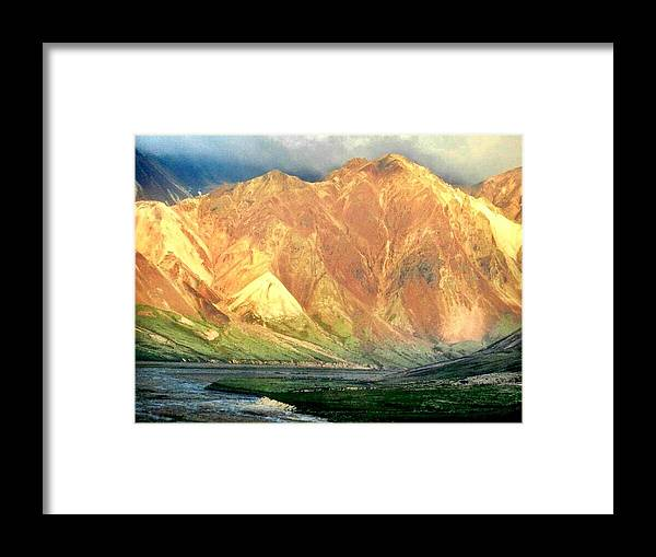 Landscape Framed Print featuring the photograph Denali by Cathy Marley