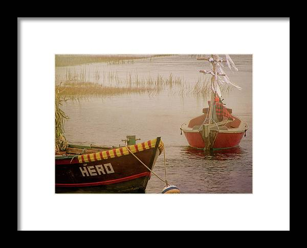Boat Framed Print featuring the photograph Dennisport Marsh by JAMART Photography