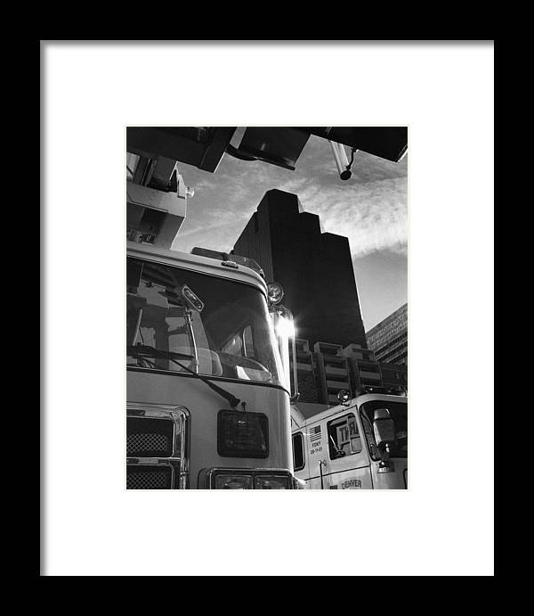 Tower Framed Print featuring the photograph Denver Fire Fdny Tower by Jim Furrer