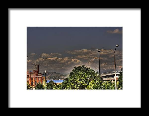 Denver Framed Print featuring the photograph Denver by Laurie Prentice