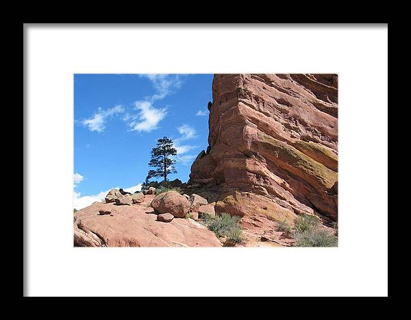 Colorado Framed Print featuring the photograph Denver Red Rocks by Margaret Fortunato