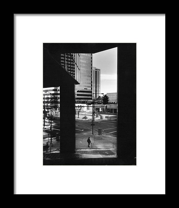 Denver Framed Print featuring the photograph Denver Sunday Morning by Jim Furrer