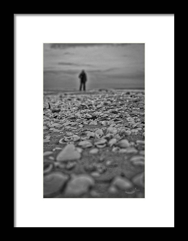 Photography Framed Print featuring the photograph Departed by Raven Steel Design