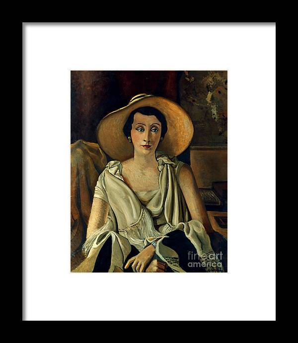 20th Century Framed Print featuring the photograph Derain: Guillaume, 20th C by Granger