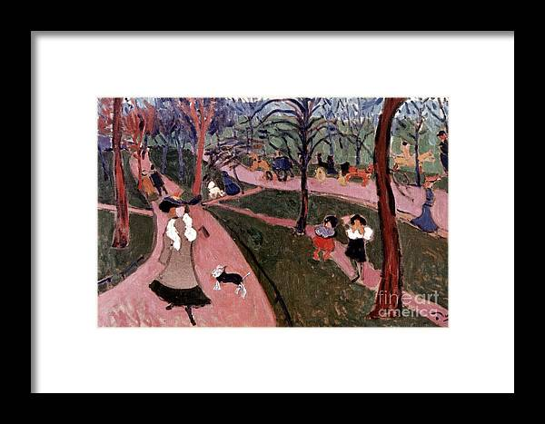 20th Century Framed Print featuring the photograph Derain: Hyde Park by Granger