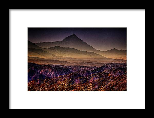Arizona Framed Print featuring the photograph Desert Dreams by Roger Passman