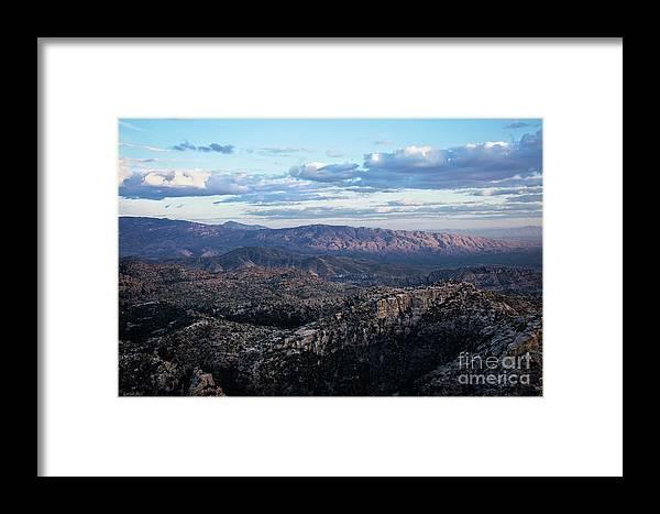 Desert Framed Print featuring the photograph Desert Overlook #2 by Korrine Holt