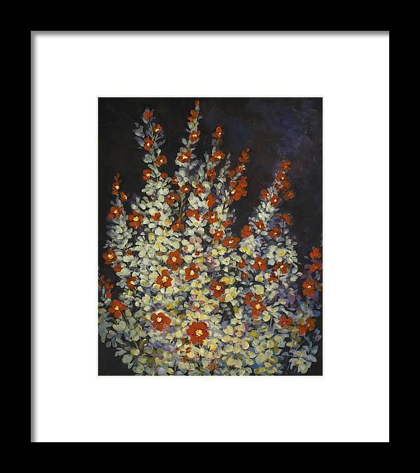 Sage Framed Print featuring the painting Desert Sage by Caroline Patrick