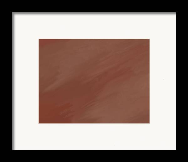 Desert Storm Framed Print featuring the painting Desert Storm by Dan Sproul