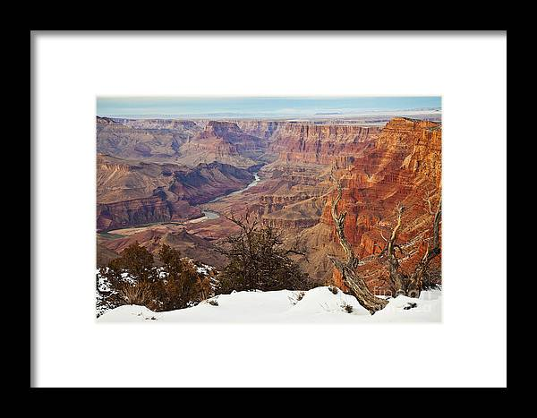 Arizona Framed Print featuring the photograph Desert View Colorado by Greg Clure