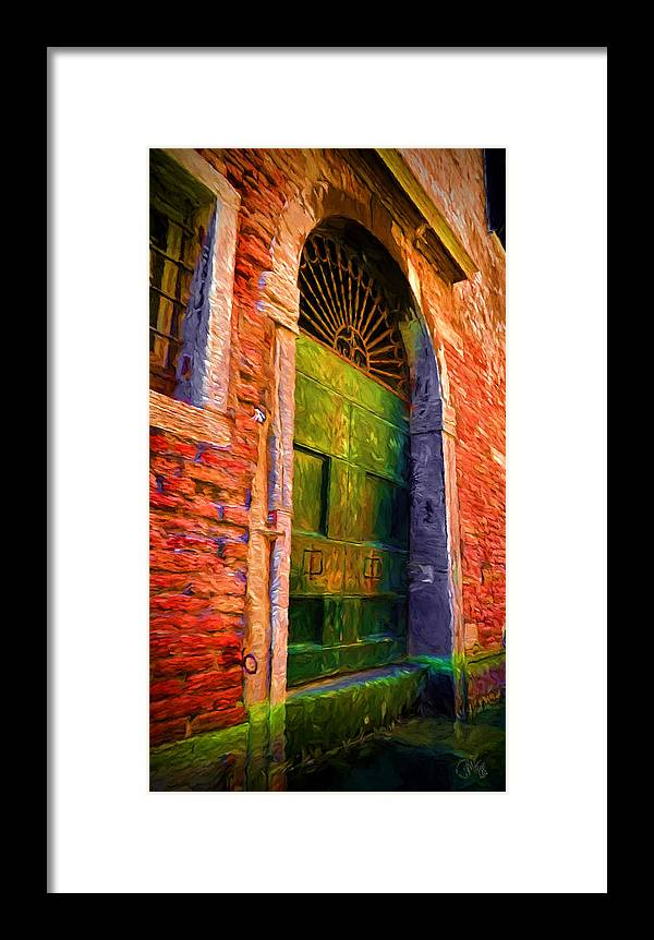 Venice Framed Print featuring the photograph Deserted Venice by Peter Hogg