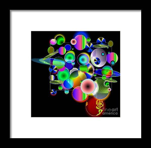 Concept Art Framed Print featuring the digital art Designers New Drum Kit by Brenda L Spencer