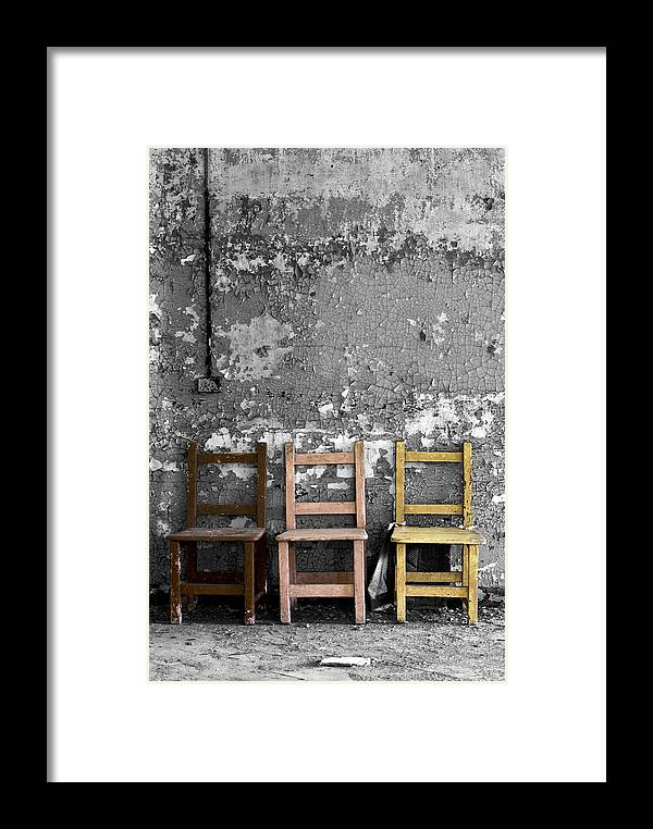 Abandoned Framed Print featuring the photograph Desolate by Conor McLaughlin