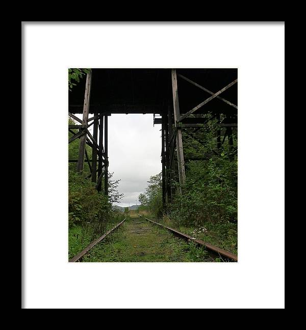 Bridge Framed Print featuring the photograph Destination Unknown by Kathleen Voort