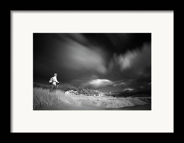 Infrared Framed Print featuring the photograph Destination by William Lee