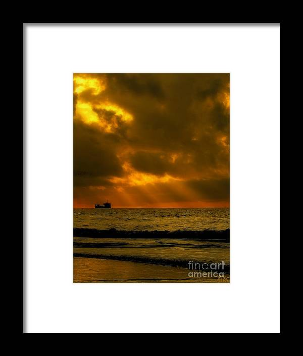 Sunrise Framed Print featuring the photograph Destiny by Jeff Breiman