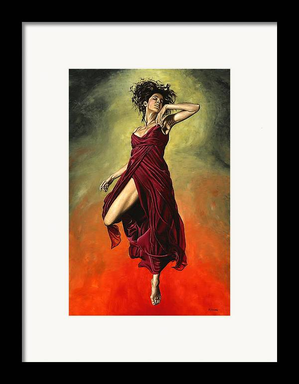 Dance Framed Print featuring the painting Destiny's Dance by Richard Young