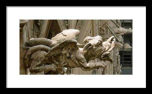 Cathedral Framed Print featuring the photograph Detail by Mikael Gambitt