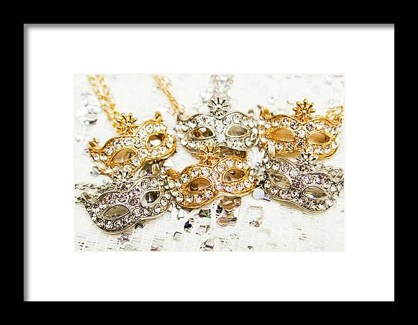 Luxury Framed Print featuring the photograph Diamond Party by Jorgo Photography - Wall Art Gallery