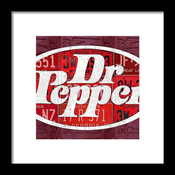 Decor Framed Print featuring the photograph Did You Know #drpepper Was Created And by Design Turnpike