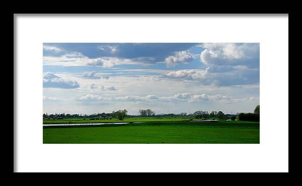 Diepenveen Framed Print featuring the photograph Diepenveen Countryside by Soon Ming Tsang