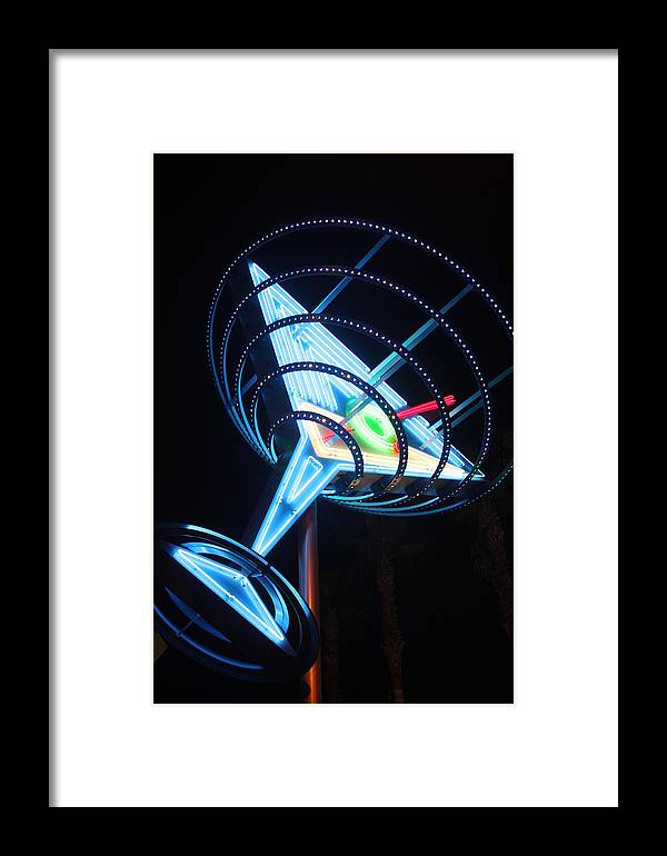 Statue Framed Print featuring the photograph Diet Martini by Erin Rosenblum