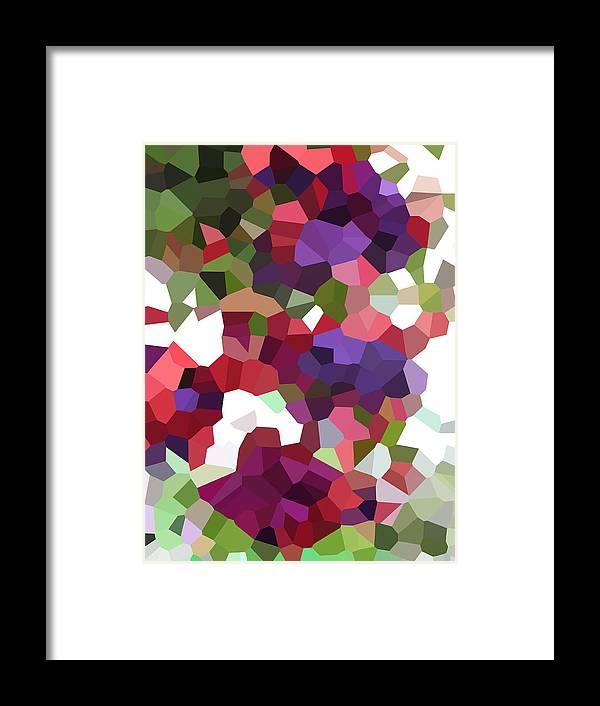 Digital Artwork Framed Print featuring the digital art Digital Artwork 847 by Maureen Lyttle