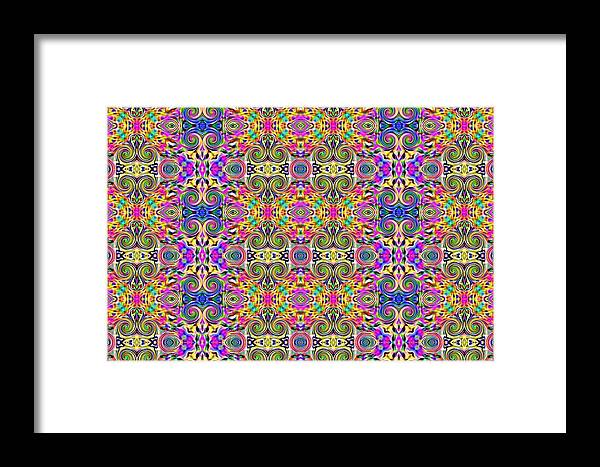 Abstract Digital Art Framed Print featuring the photograph Digital Future by Guillermo Mason