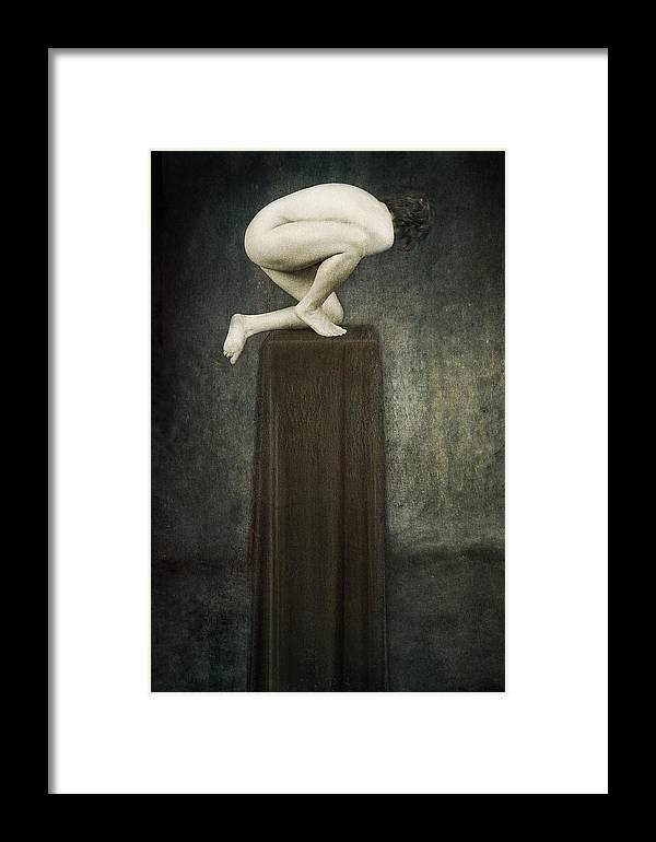 Framed Print featuring the photograph Discobolus by Zygmunt Kozimor